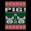 Pig Ugly Christmas Sweater - Men's Premium T-Shirt