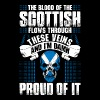 The Blood Of The Scottish Proud Of It - Men's Premium T-Shirt