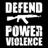 Defend Power Violence - Men's Premium T-Shirt