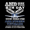 Air force veterans - The devil stood to attention - Men's Premium T-Shirt
