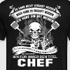 Chef pastry chef design chef humor pampered chef - Men's Premium T-Shirt