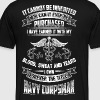 NAVY CORPSMAN girlfriend and Mom - Men's Premium T-Shirt