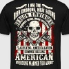 Beer Drinking Gun Owning American - Men's Premium T-Shirt