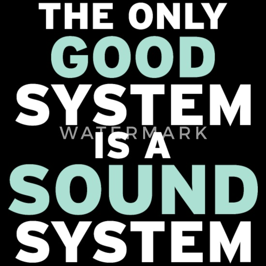 Men/'s Ladies T SHIRT cool graffiti Only Good System is a Sound System music rave