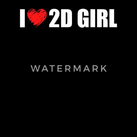 Hentai Anime T-Shirt - Funny I Love 2D Girls Gift Men's Premium T