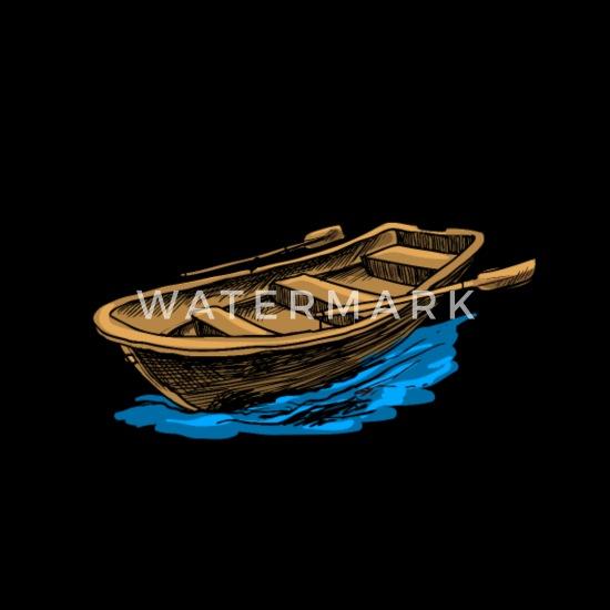 Canoe Boat Art Design Gift Ideas Men's