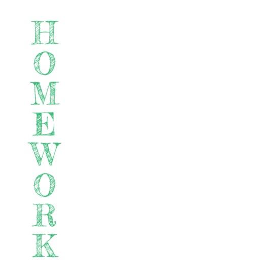 Homework definition