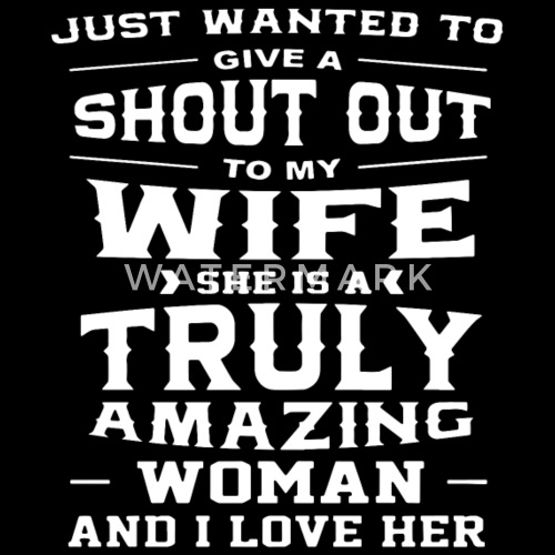 i want my wife