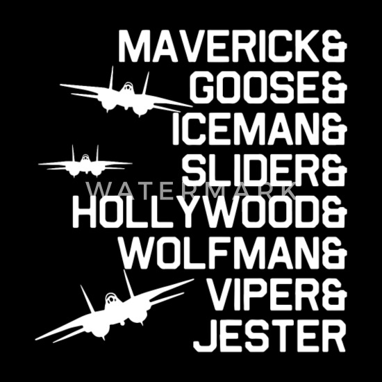 39cbd347 Maverick goose iceman sliger hollywood wolfman vip Men's Premium T ...