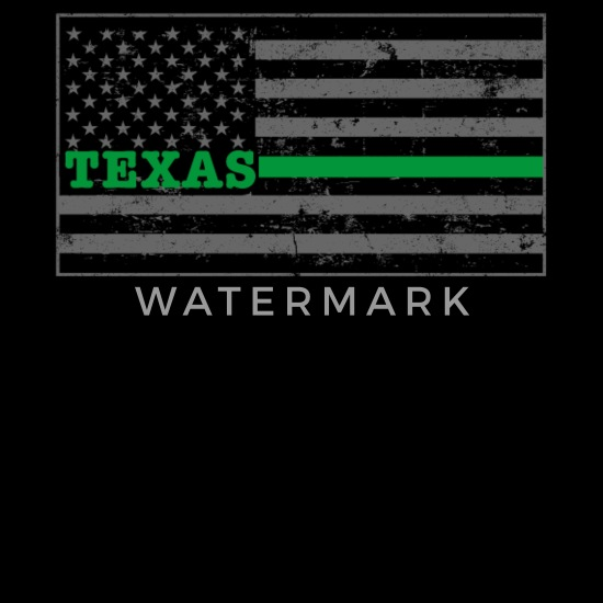 Texas Military Border Patrol Shirt Thin Green Line Shirt