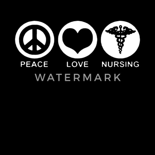 Peace Love Nurse Rn Nursing Cute Funny Gift Doctor Mens Premium T Shirt Spreadshirt