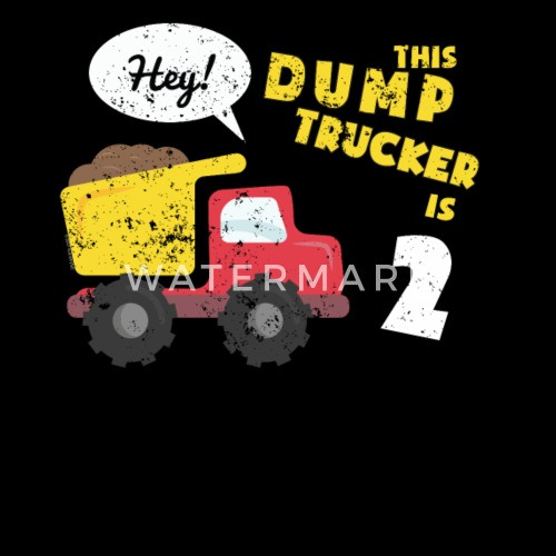 2nd Birthday Shirt Party Toddler Kids Dump Truck Construction By KentuckyGirlTeez