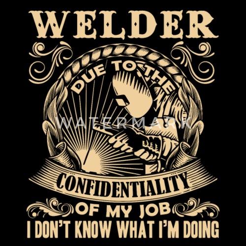 Welder T Shirt Men S Premium T Shirt Spreadshirt