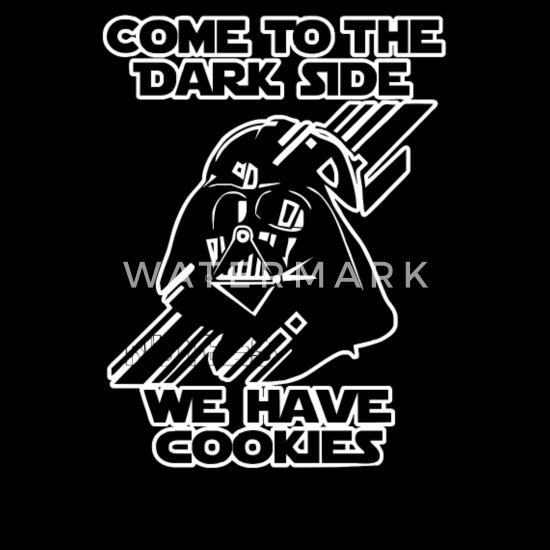 90eb6911c Movie T-Shirts - Come To The Dark Side We Have Cookies Funny - Men's.  Customize