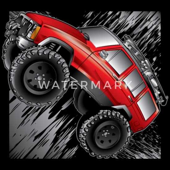 Jeep Lifted Cherokee XJ Offroad Sweatshirt Xlarge