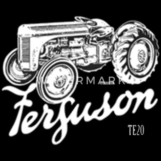 Classic Ferguson TE20 script and illustration Men's Premium