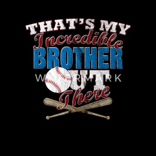 Funny Baseball Brother Sister Gift Mens Premium T Shirt Spreadshirt