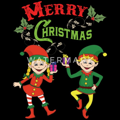 Merry Christmas Funny Elves Elf Xmas Gifts By For More Designs Click Here Spreadshirt
