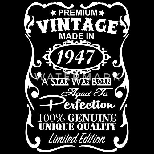 70th Birthday Gift Ideas For Men Mens Premium T Shirt