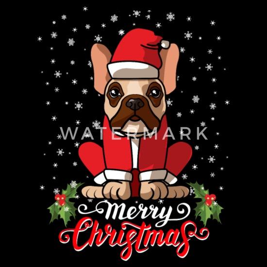 Merry Christmas French Bulldog
