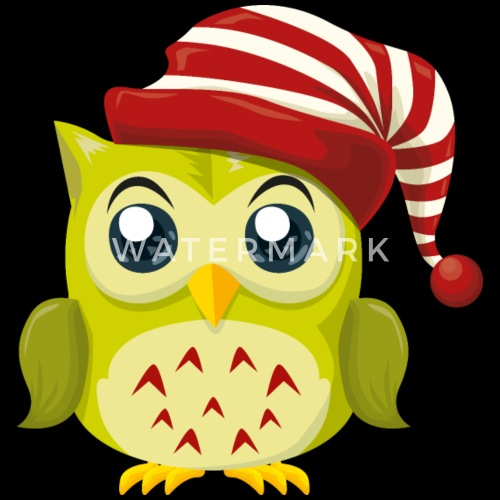 owl new year holiday christmas cartoon by andriy spreadshirt