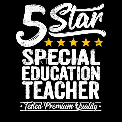 Best Special Education Teacher Gift 5 Star Job Tee By Easyy Spreadshirt