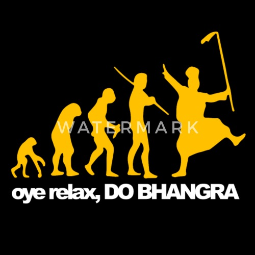ed93711bdf8006 Bhangra Evolution - Men s Premium T-Shirt. Front. Front. Back. Back. Design
