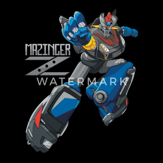 Mazinger Z Robots Men's Premium T-Shirt | Spreadshirt
