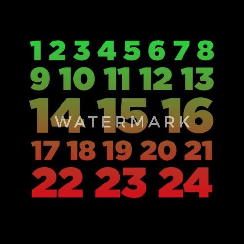 advent calendar color christian christmas season by freshdressedtees spreadshirt