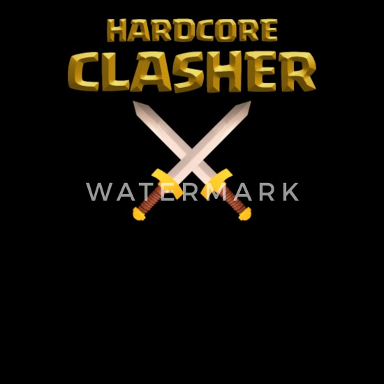 Hardcore Clasher Clash of Clans Players and Fans Men's