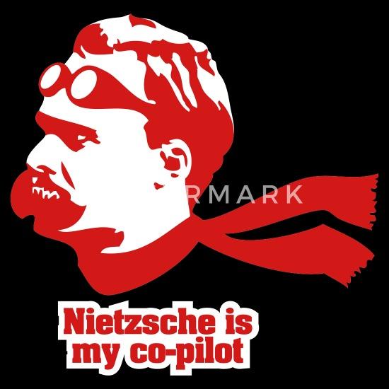 Nietzsche is my Copilot Men's Premium T-Shirt | Spreadshirt
