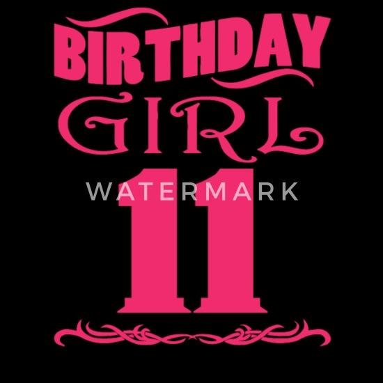 Super Birthday Girl 11 years old Men's Premium T-Shirt | Spreadshirt MX-93