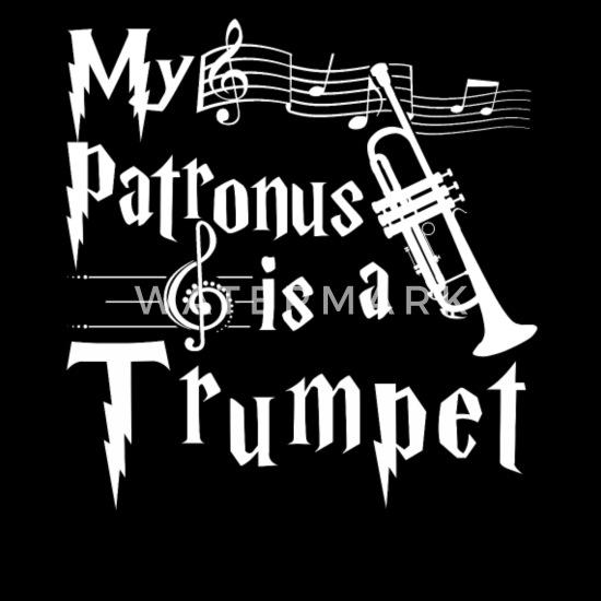 Trumpet T-Shirt My Patronus is A Trumpet Cool T Shirts Design