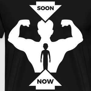 Soon Muscular Body - Sport & Fitness - Men's Premium T-Shirt