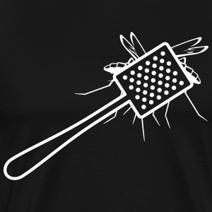A Fly Swatter Kills A Mosquito - Men's Premium T-Shirt