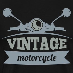 Vintage Motorcycle - Men's Premium T-Shirt