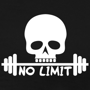 No Limit / Body / skull - Men's Premium T-Shirt