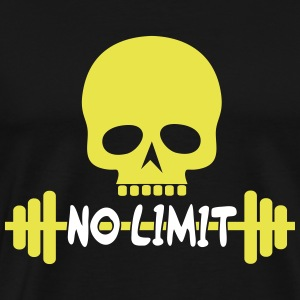 No Limit / skull - Men's Premium T-Shirt