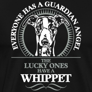 GUARDIAN ANGEL WHIPPET - Men's Premium T-Shirt