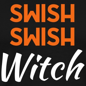 Swish Swish Witch - Halloween - Men's Premium T-Shirt
