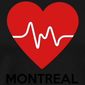 Heart Montreal - Men's Premium T-Shirt