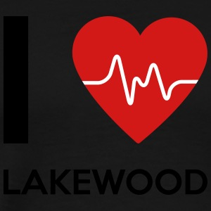 I Love Lakewood - Men's Premium T-Shirt