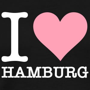 I Love Hamburg - Men's Premium T-Shirt