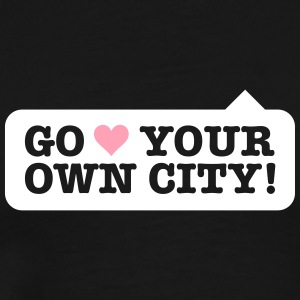 Love Your Own City! - Men's Premium T-Shirt
