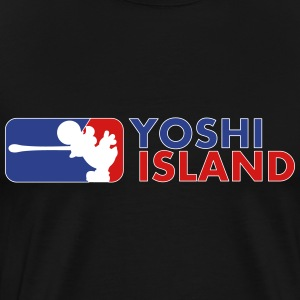 MAJOR YOSHI ISLAND - Men's Premium T-Shirt
