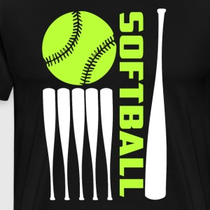 Softball T Shirt - Men's Premium T-Shirt