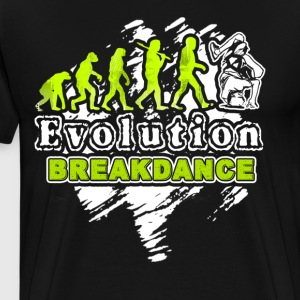 Break Dance Shirt - Break Dance Evolution T Shirt - Men's Premium T-Shirt