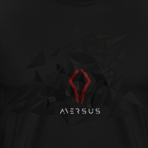 Aversus - Logo + Name - Men's Premium T-Shirt