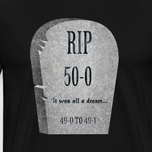 It was all a dream..: RIP Funny Tombstone - Men's Premium T-Shirt