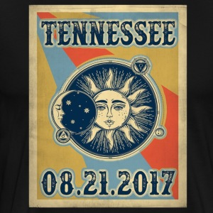 Vintage Tennessee Total Solar Eclipse 2017 - Men's Premium T-Shirt